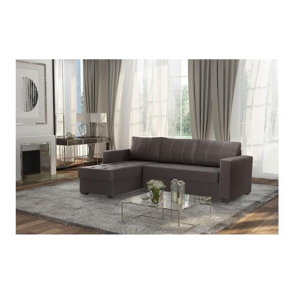 Succes világosbarna kanapé, bal oldalas - Interieur De Famille Paris