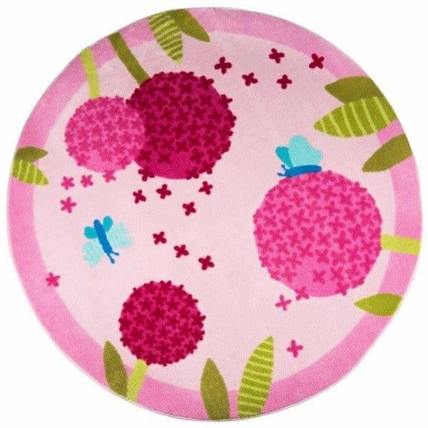 Polen Pink gyerekszőnyeg, ⌀ 133 cm
