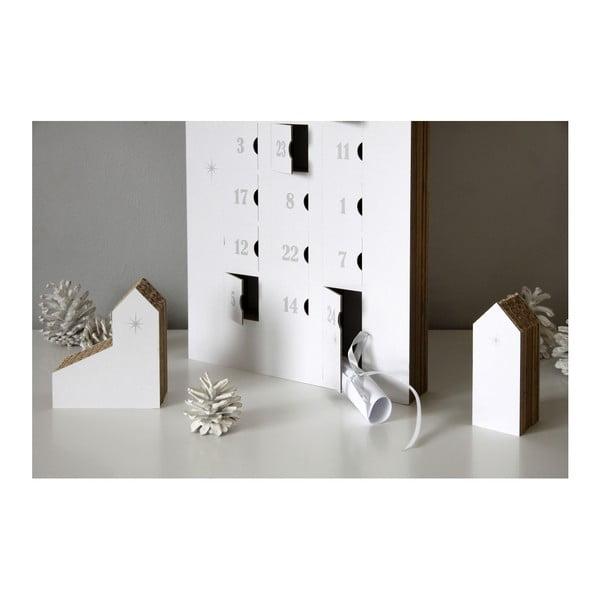 Adventi naptár ezüstszínű számokkal - Unlimited Design for kids