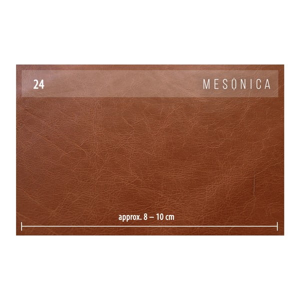 Musso konyakbarna bőrfotel - MESONICA