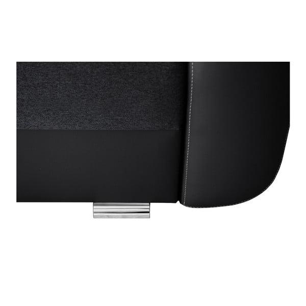 Destin fekete kanapé, jobb oldali - Interieur De Famille Paris