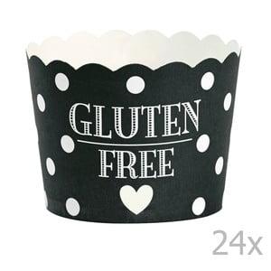 Gluten Free papír sütőforma, 24 db - Miss Étoile