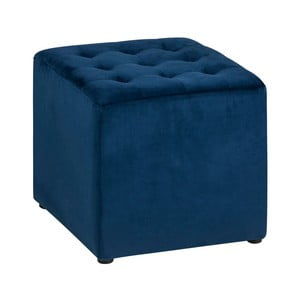 Tmavě modrý puf Actona Bryan