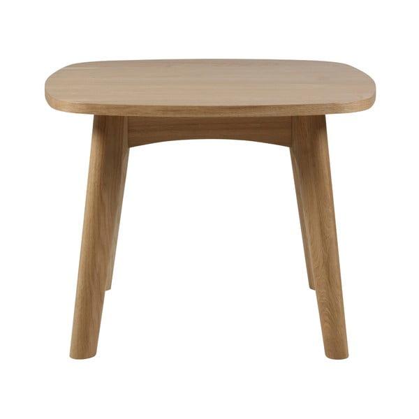 Martel rakodóasztal tölgyfa lábszerkezettel, ⌀58cm - Actona