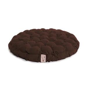 Bloom sötétbarna ülőpárna masszázsgolyókkal, ⌀ 65 cm - Linda Vrňáková
