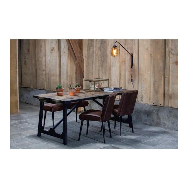 Craft tömör fenyőfa étkezőasztal, 190 x 90 cm - BePureHome