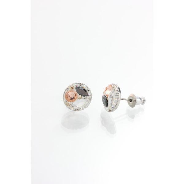 Esop fülbevaló Swarovski Elements kristályokkal - Laura Bruni