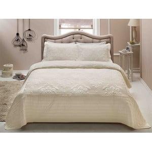 French Mood kétszemélyes könnyű szteppelt ágytakaró párnahuzattal, 250 x 260 cm
