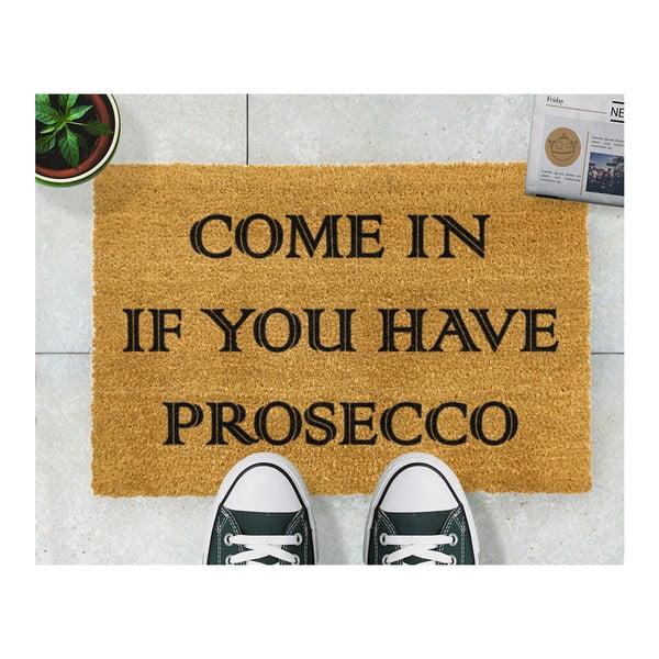 Prosecco természetes kókuszrost lábtörlő, 40 x 60 cm - Artsy Doormats