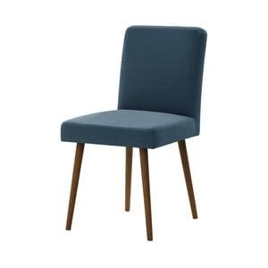 Fragrance kék bükk szék sötétbarna lábakkal - Ted Lapidus Maison