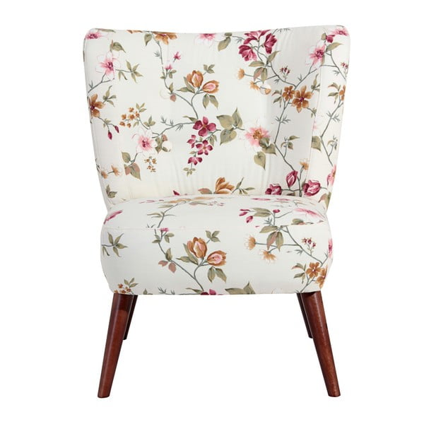 Neele fehér mintás fotel - Max Winzer