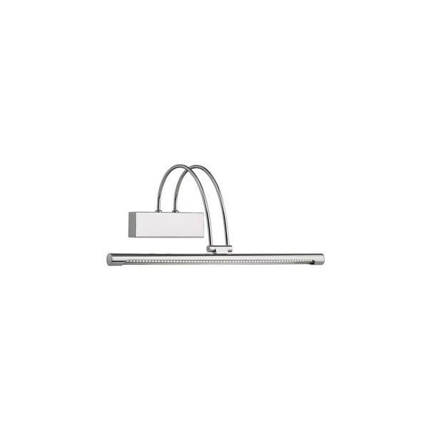 Bow Chromo fali lámpa, 46 cm - Evergreen Lights
