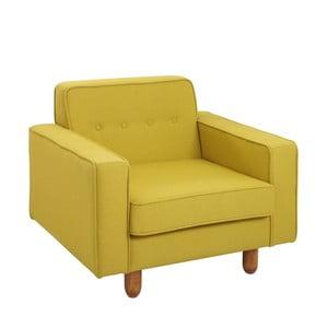 Žluté křeslo Custom Form Zugo