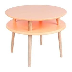 UFO narancssárga dohányzóasztal, Ø 57 cm - Ragaba