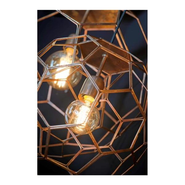 Marrakesh sárgarézszínű függőlámpa, ⌀ 34 cm - Citylights