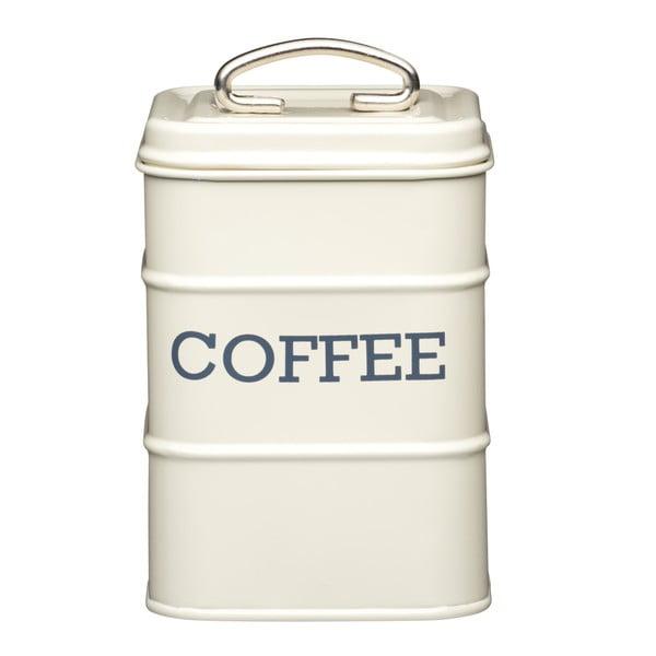 Nostalgia krémszínű fém kávésdoboz, 1,2 l - Kitchen Craft