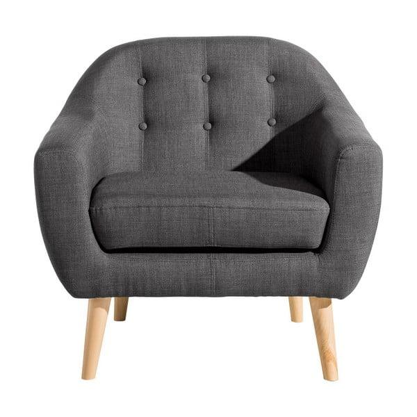 Kelly antracitszürke fotel - Max Winzer