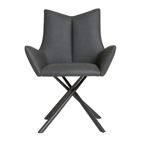 Lucio fekete fotel - Marckeric