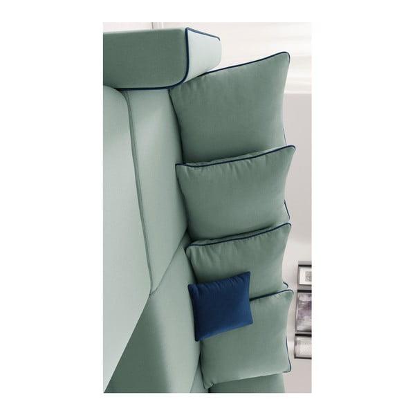 Mola mentazöld kinyitható kanapé, bal oldali kivitel - Bobochic Paris
