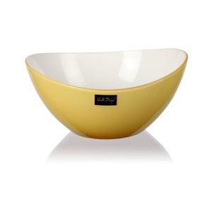 Világos sárga salátástál, 16 cm - Vialli Design