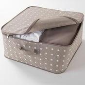 Dots bézs ruhatároló doboz - Compactor