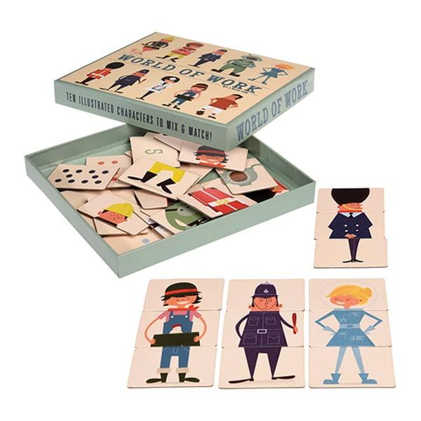 Mix And Match összerakós játékkártyák - Rex London