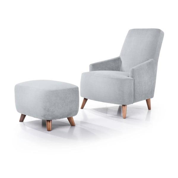 Slope ezüstszürke fotel - Softnord