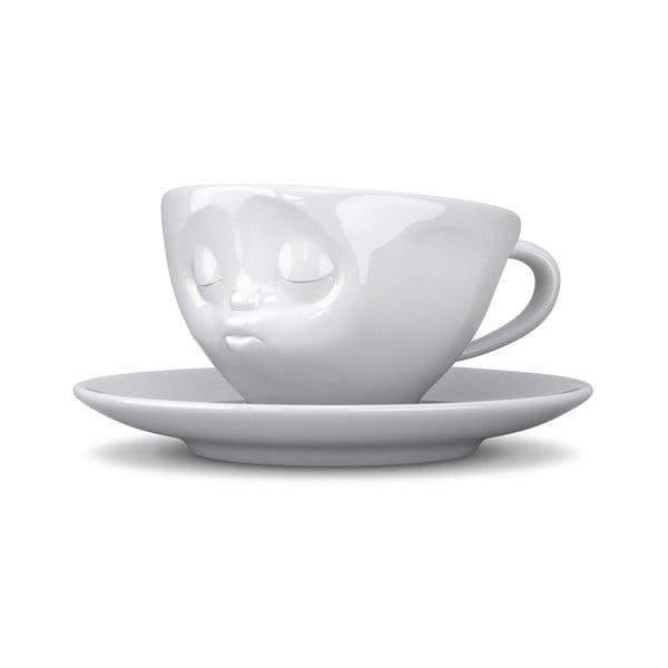Fehér csókos kávés csésze, 200 ml - 58products