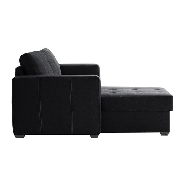 Succes fekete kanapé, bal oldalas - Interieur De Famille Paris