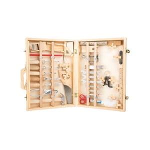 Deluxe fa szerszámkészlet bőröndben - Legler