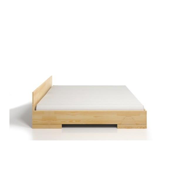 Spectrum kétszemélyes ágy borovi fenyőből tárolóval, 200 x 200 cm - Skandica