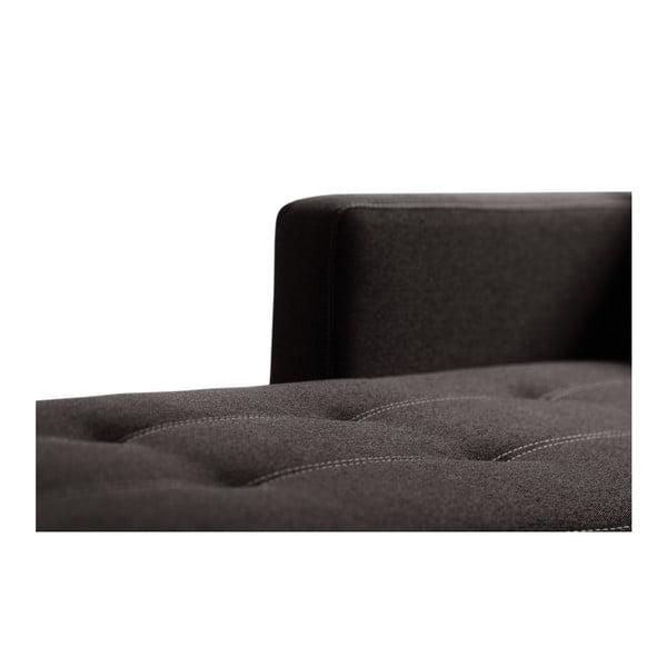 Succes sötétbarna kanapé, bal oldalas - Interieur De Famille Paris