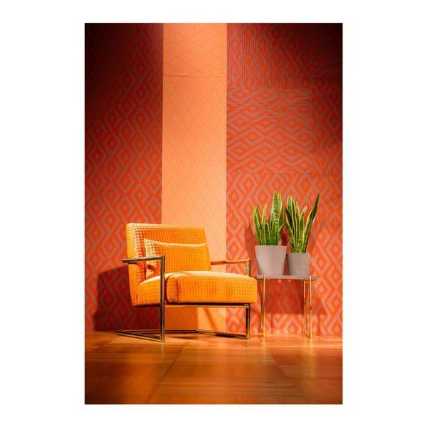 Vegas narancssárga fotel - Kare Design