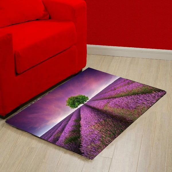 Lavender Field vinil szőnyeg, 52 x 75 cm - Zerbelli