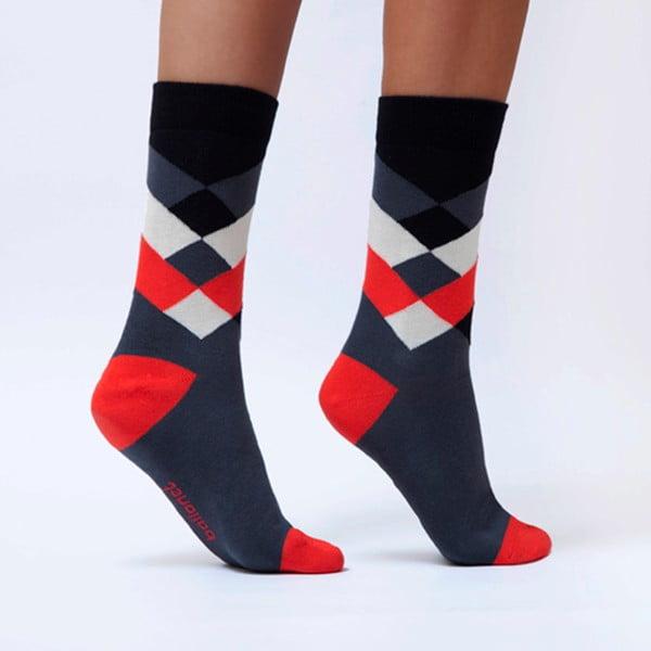 Diamond Cherry zokni, méret: 36 – 40 - Ballonet Socks