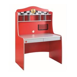 Race Cup Desk With Unit piros íróasztal
