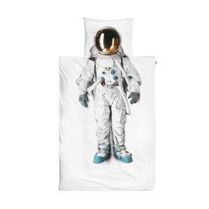 Astronaut egyszemélyes pamut ágyneműhuzat, 140 x 200 cm - Snurk