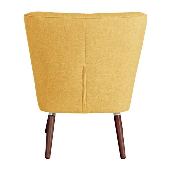 Neele Yellow sárga fotel - Max Winzer