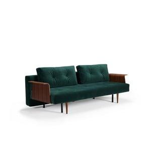 Recast Plus zöld kinyitható kanapé - Innovation