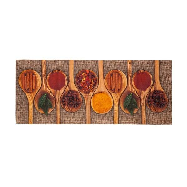 Spices rendkívül ellenálló konyhai futószőnyeg, 60 x 220 cm - Floorita
