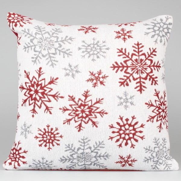 Winter fehér-piros párnahuzat - Dakls