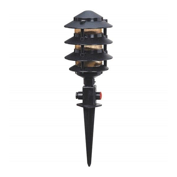 Gloss fekete kerti világítás