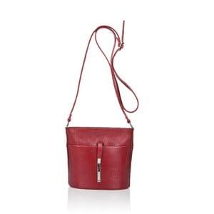 Calf Mini piros bőr válltáska - Markese