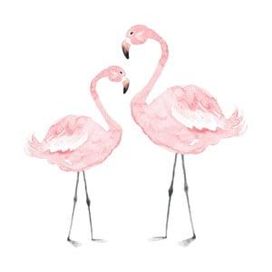 Flamingos falmatrica, 55 x 55cm - Dekornik