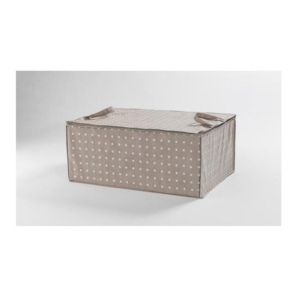 Dots bézs tároló, 50 x 70 cm - Compactor