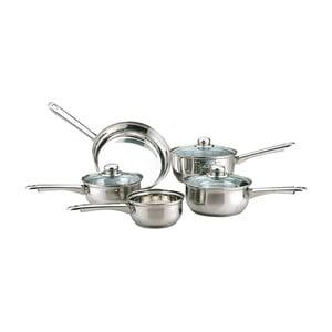Essentials edénykészlet indukciós főzőlaphoz fedővel, 5 részes - Sabichi