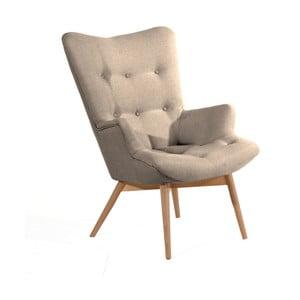 Aiko világosbarna fotel - Max Winzer