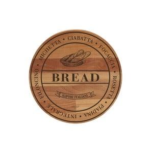 Broad Bread bükkfa tálalódeszka/vágódeszka, 30 cm - Bisetti
