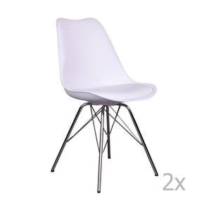 Oslo Chroma fehér székkészlet, 2 darab - House Nordic