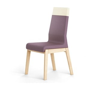 Kyla Two sötét lila tölgyfa szék - Absynth